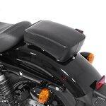 Pillion Seat Pad Suction Cup for Custom Bikes Craftride Flat Head black