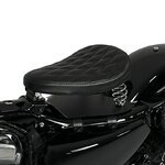 Solo Rider Spring Seat with Base Plate Craftride SG12 black