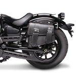 Motorcycle Saddlebag For Custom Bikes Montana black left