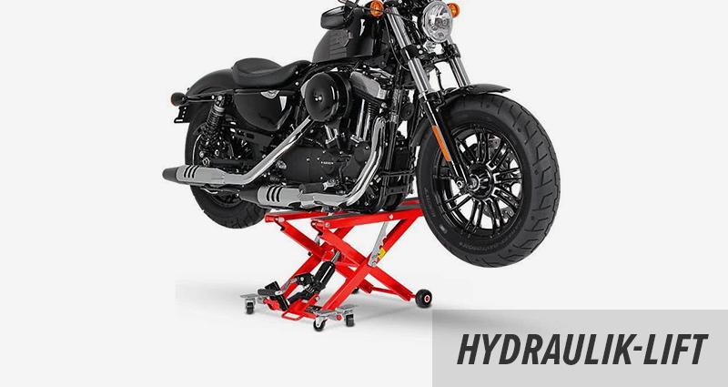 Motorrad Hebebühne und Hydraulik Heber