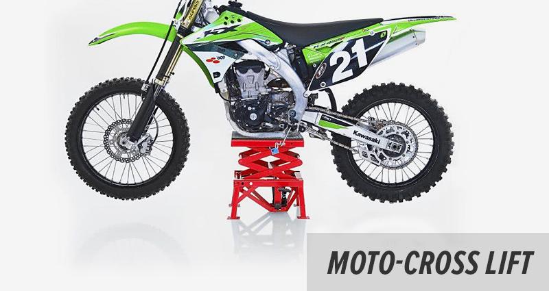 Moto Cross Montageständer